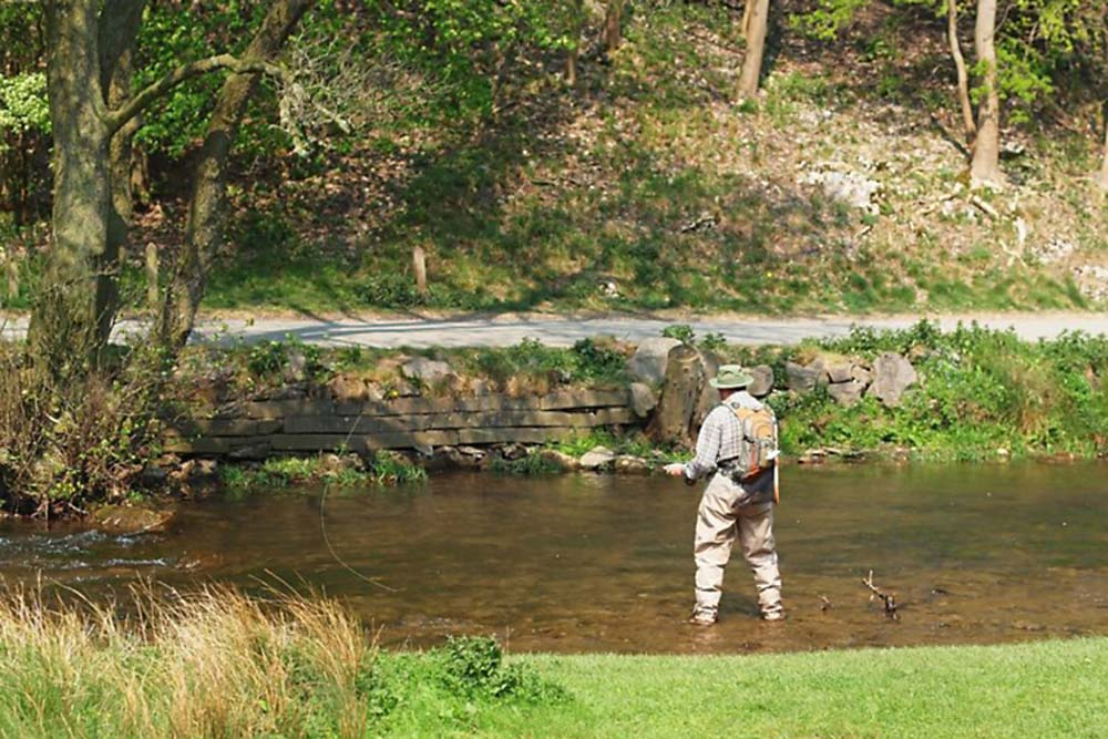 Lime Tree Holiday Park Fishing on the River Dove