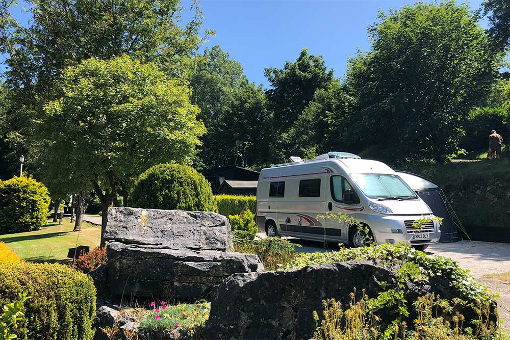 Touring Caravans and Motorhomes - Lime Tree Holiday Park 7507