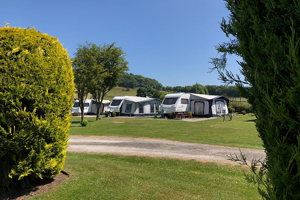 Touring Caravans and Motorhomes - Lime Tree Holiday Park 7555