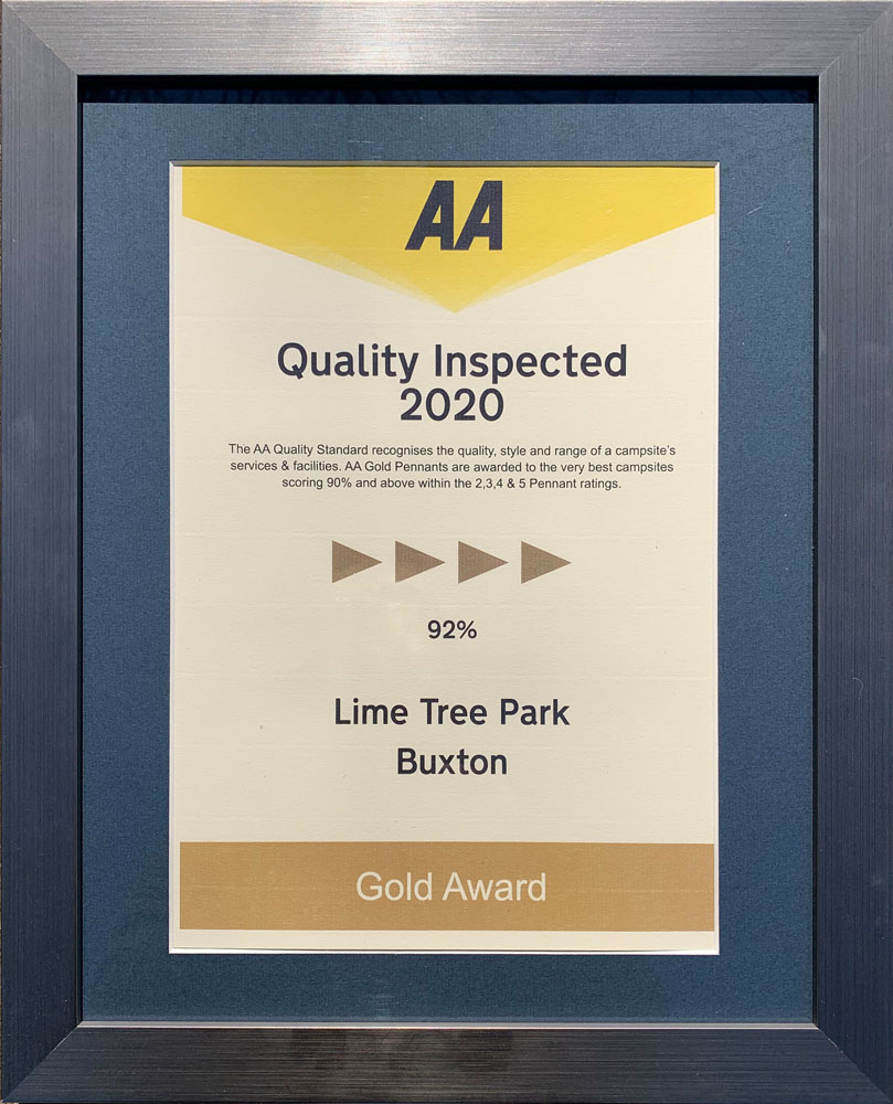 Lime Tree Holiday Park AA Quality Inspected 2020